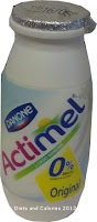 Danone Actimel original fat free drinking yogurt