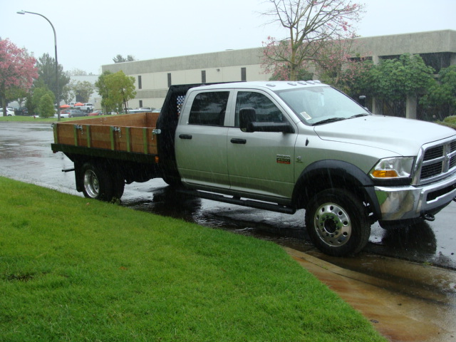 Commercial truck success blog sweet dodge 4500 crew cab with gooseneck body