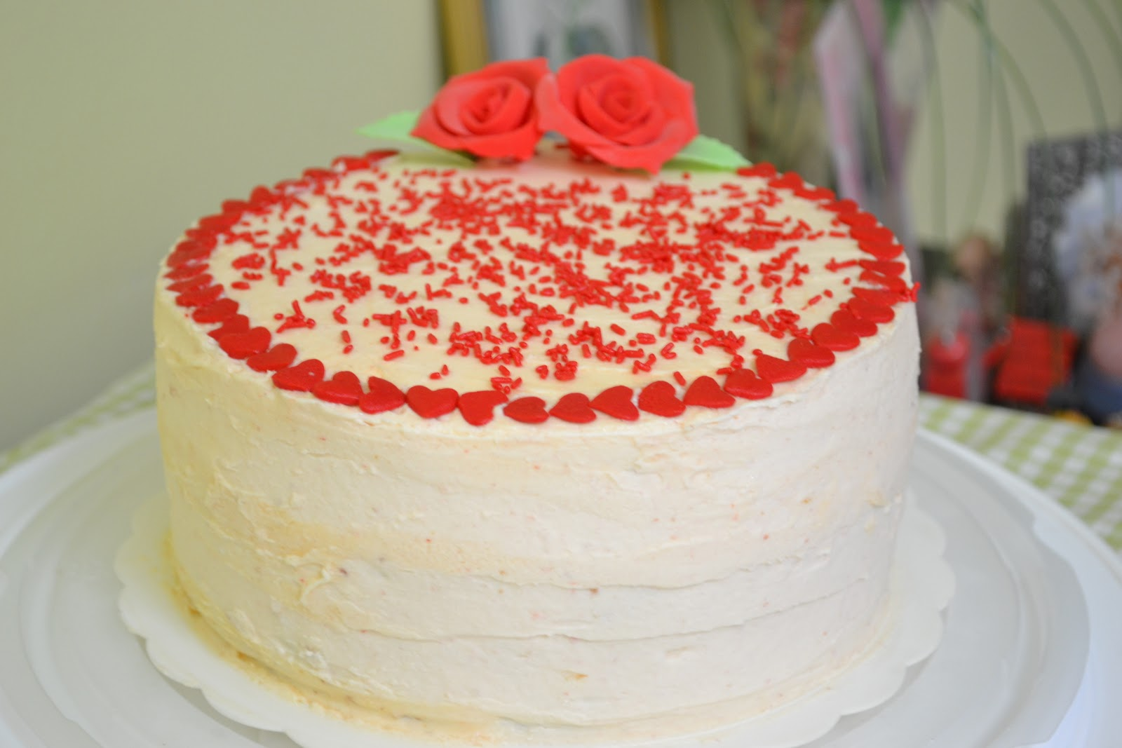 Through The Kitchen Door: Strawberry Layer Cake With ...