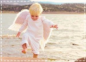 Ela acreditava em anjO ...