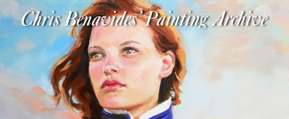 Chris Benavides' Painting Journal