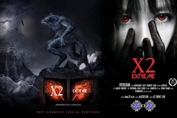 jual softlens x2 extreme murah