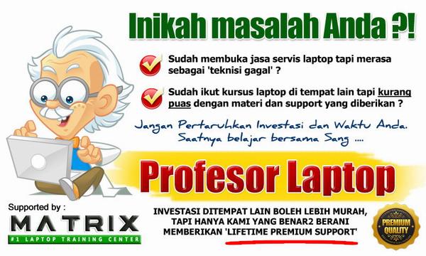tempat kursus laptop terbaik indonesia