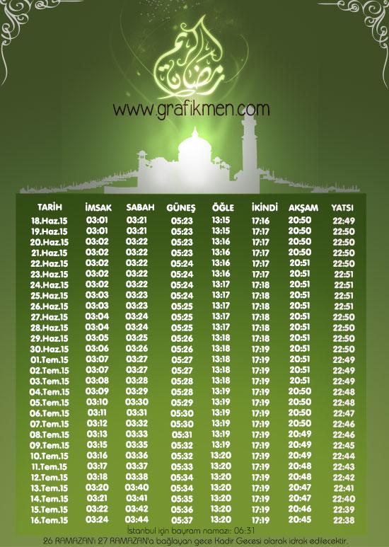 2015 imsakiye, ramazan imsakiyesi, istanbul ramazan imsakiyesi, ramazan imsakiyesi yap, 2015 ramazan imsakiyeleri, imsak vakitleri, psd indir, psd dosyası, photoshop,