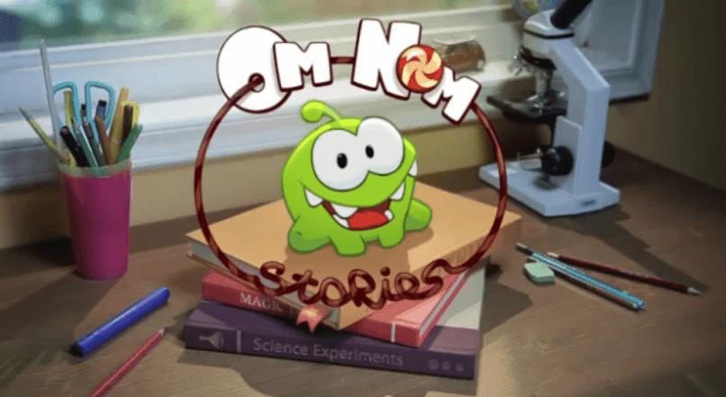 Cut the Rope, Mira los cortos de Om Nom Stories.