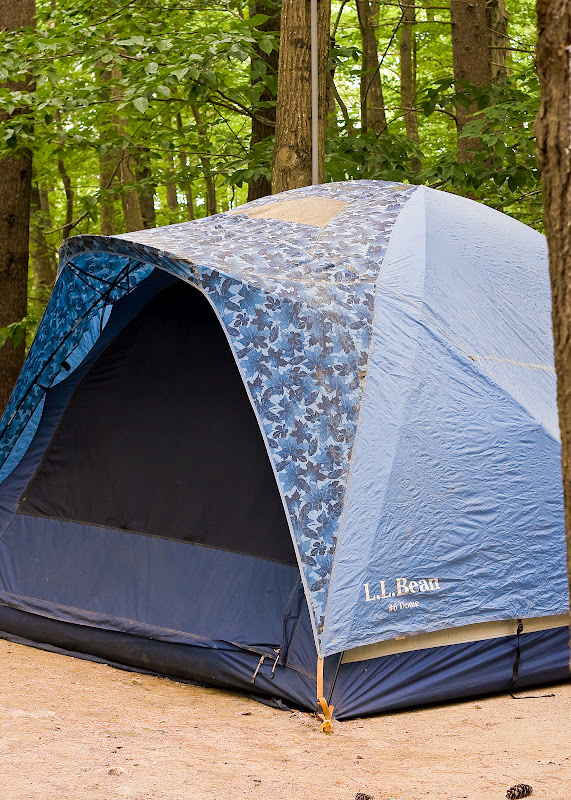 Our LL Bean Ultimate 6 Person Dome Tent & Our Side of the Mountain: Our Camping Trip