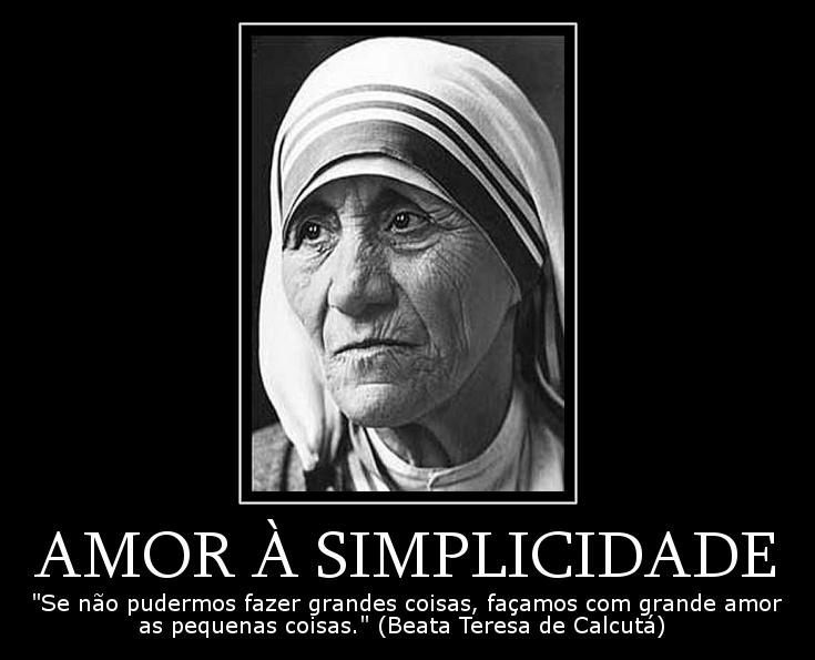 Amor à Simplicidade Frases Dos Santos