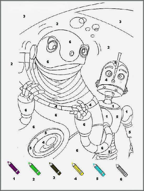 Coloriages magiques i robot signal imprimer coloriage magique cp - Coloriage tobot ...