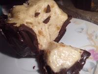 tacitas de chocolate rellenas