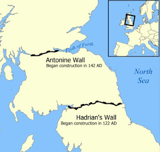 scotland scottish tourism hadrians wall