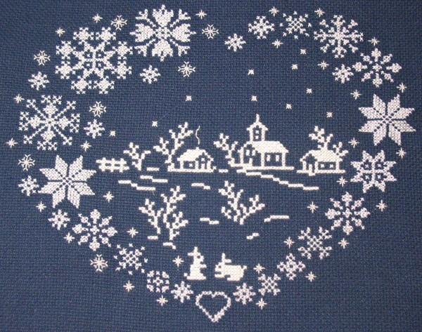 Схема для вышивки подарка к 14