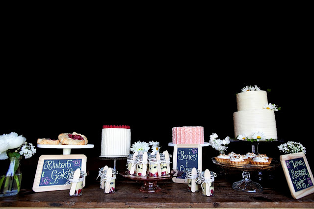 Cake Trio and Mini Desserts Twin Cities