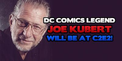 Comic Legend Joe Kubert Comes to C2E2 2012