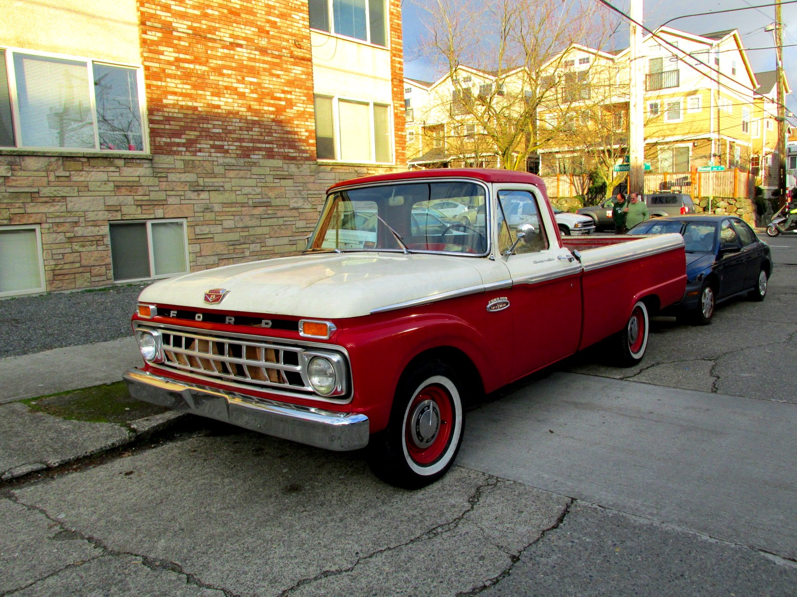 1964 Ford F100 Custom F 100 Seattles Classics Cab 1600x1200