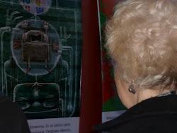 La abuela Estela Carlotto en la Muestra de TwitteRelatos