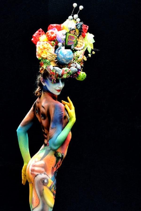 Body Art - bộ sưu tập tranh vẽ nghệ thuật đa sắc màu