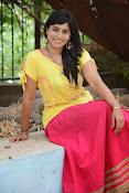 Aparna Glam pics in yellow top-thumbnail-4