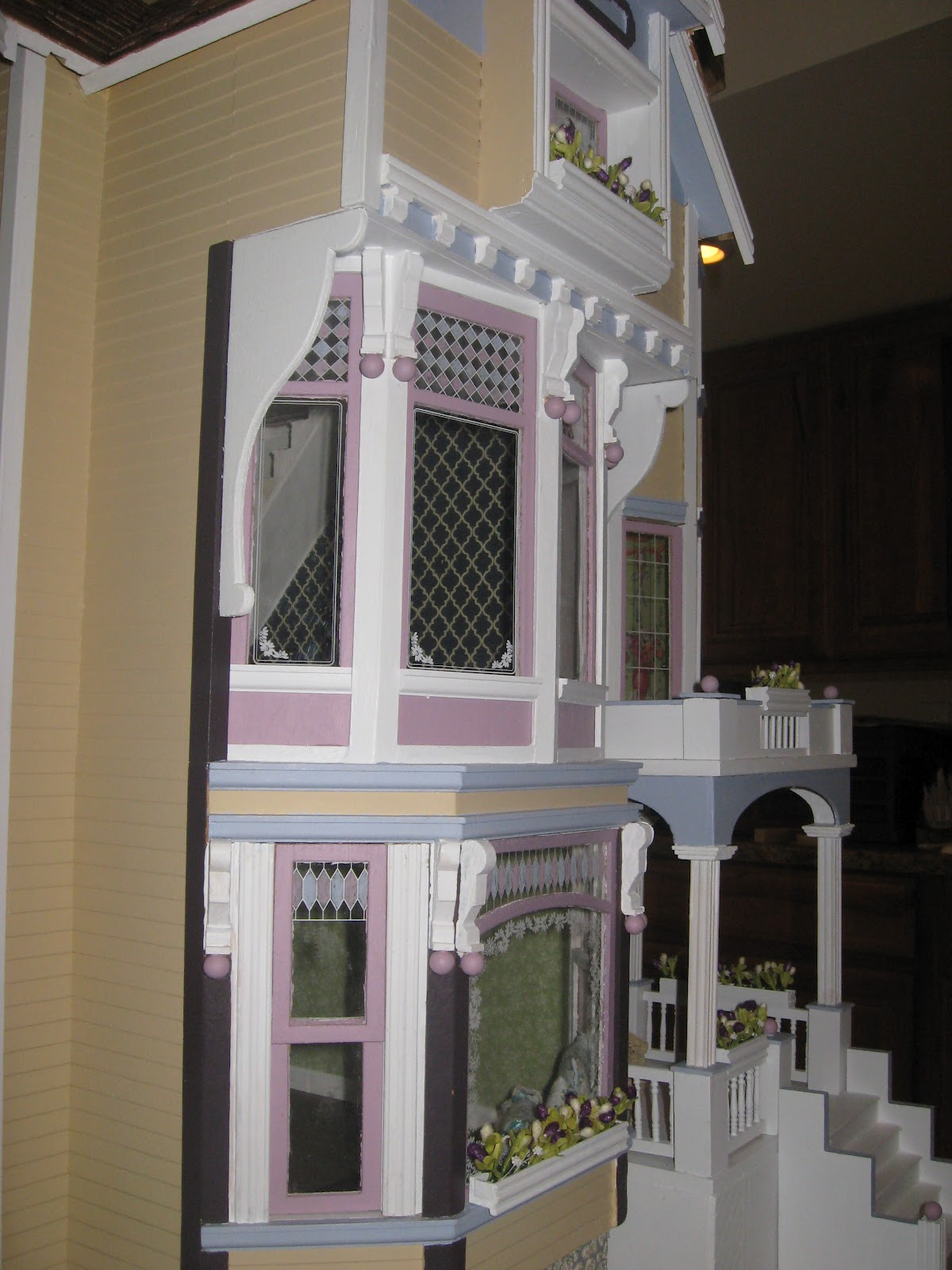 Little Darlings Dollhouses Newly Finished Victorian