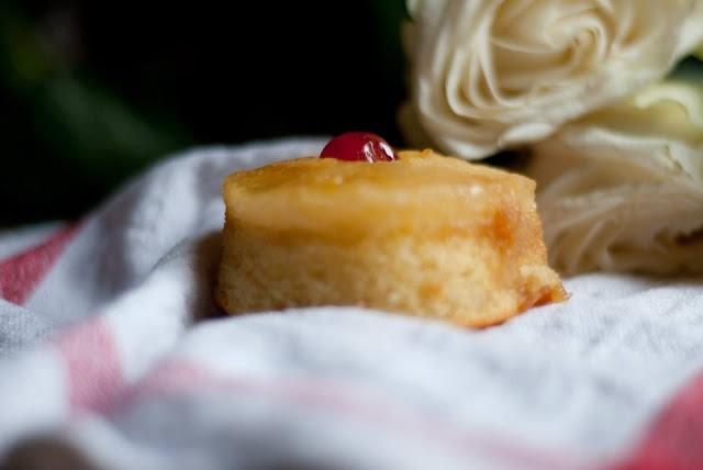 pineapple, upside, down, cake, mini, lifestyle, blog, blogger, recipe