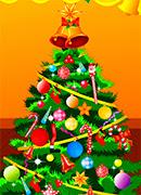Уборка новогодней елки - Онлайн игра для девочек