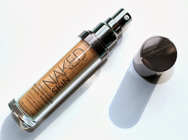 Urban Decay Naked Skin Liquid Foundation Review, Photos, Swatches