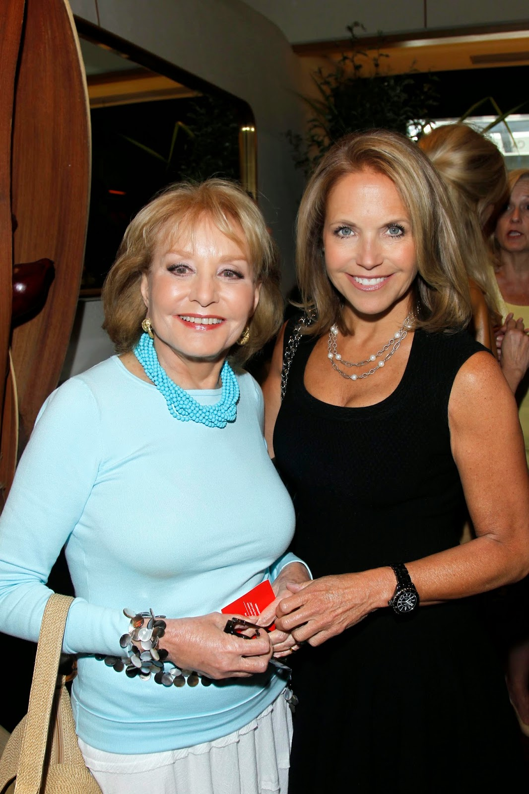 peeing Katie couric