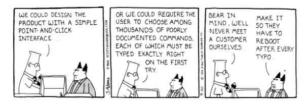 8 calitati ale unui user interface profesionist