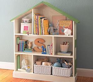 estanterías habitación infantil