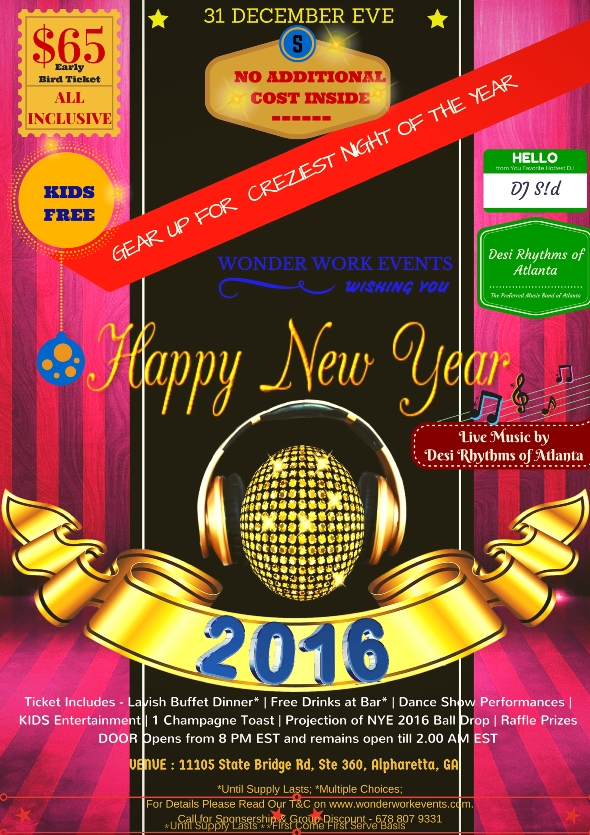 New Year Eve 2016