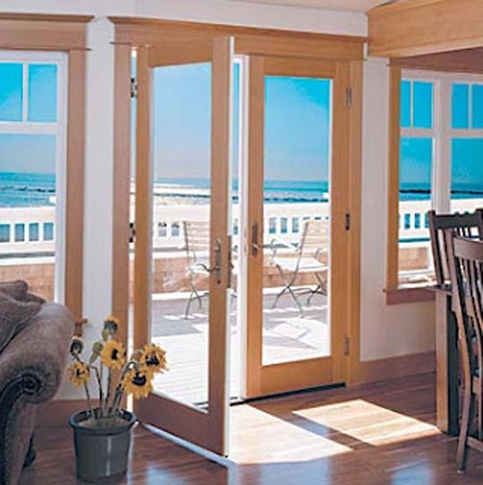 Interior french glass doors from lowes home decorating cheap for Glass doors for home