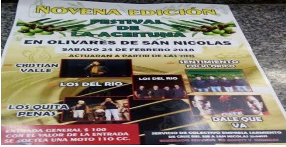 Festival de Olivares de San Nicolás