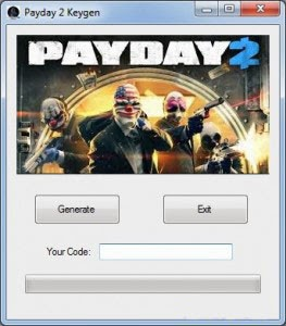 Payday 2 CD KEY Generator