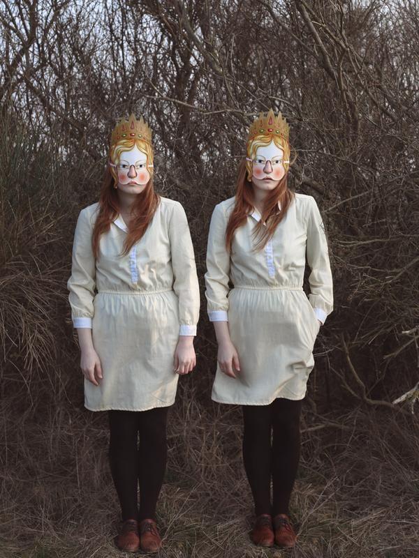 Foto gemelas mujeres