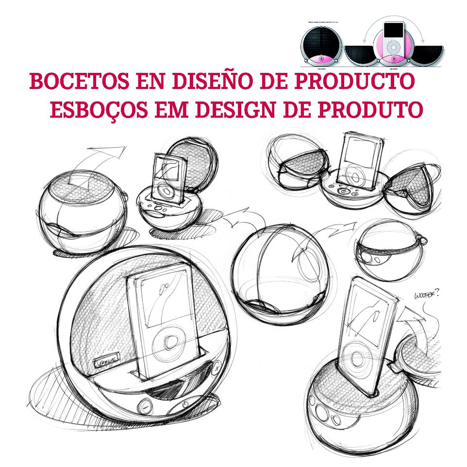 Tendencias creativas ideas a trav s de bocetos for Industrial design product development