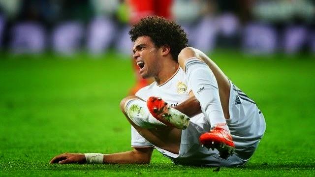 بيبي يغيب عن نهائي لشبونة بين ريال مدريد و اتلتيكو مدريد