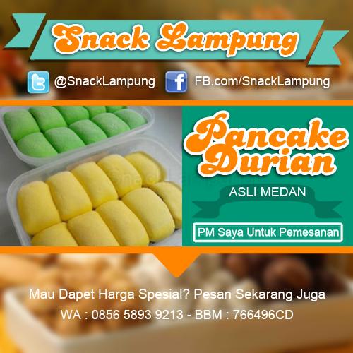 Jual Pancke Durian Asli Medan