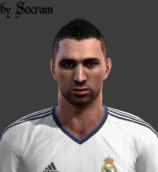 Benzema Face - PES 2013