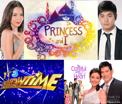 Kantar Media August 6, 7 and 8 TV Ratings: It's Showtime Beats Eat Bulaga, Walang Hanggan Ties with Princess and I