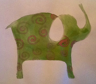 Art Intertwine - Watercolour Animals a la Picasso