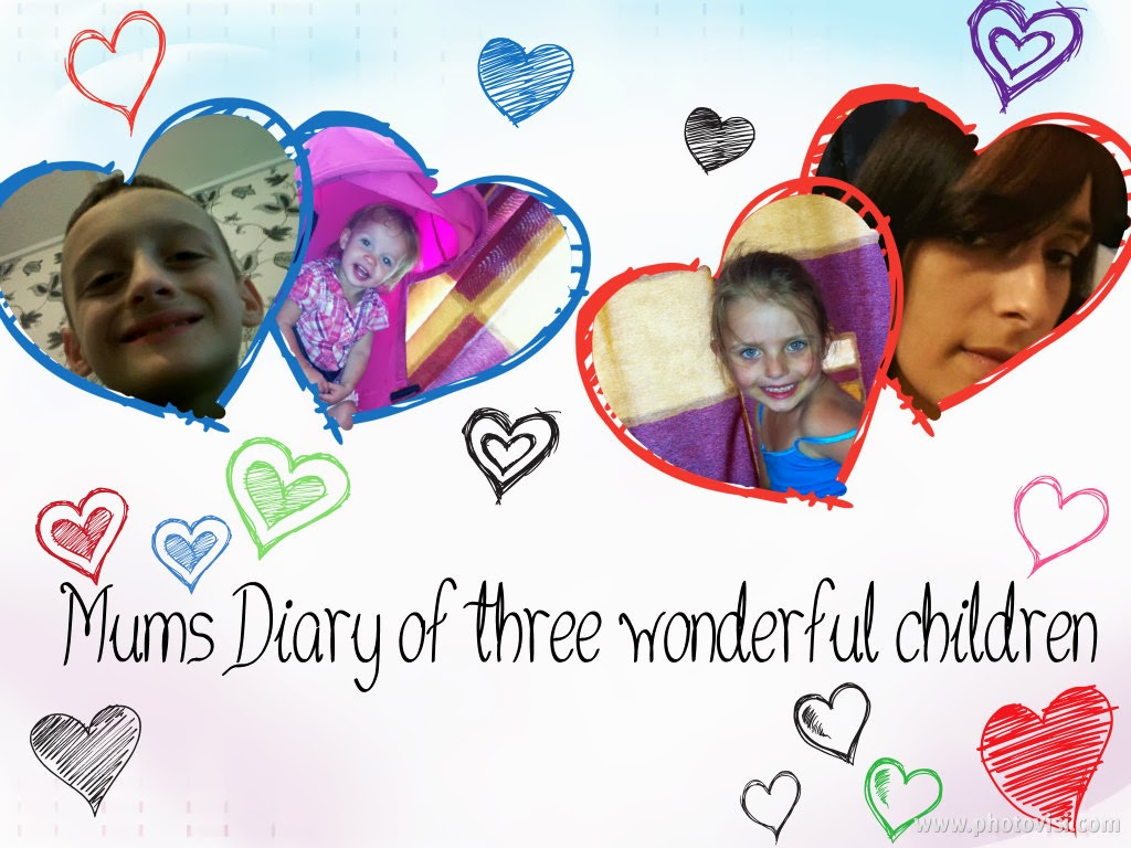Mums diary of three wonderful children xxx