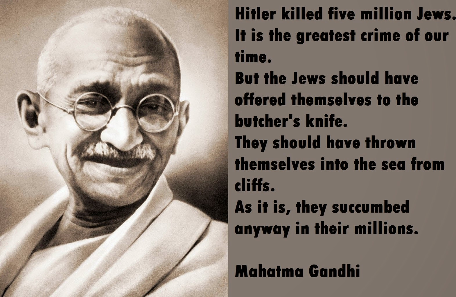 anti black quotes by gandhi