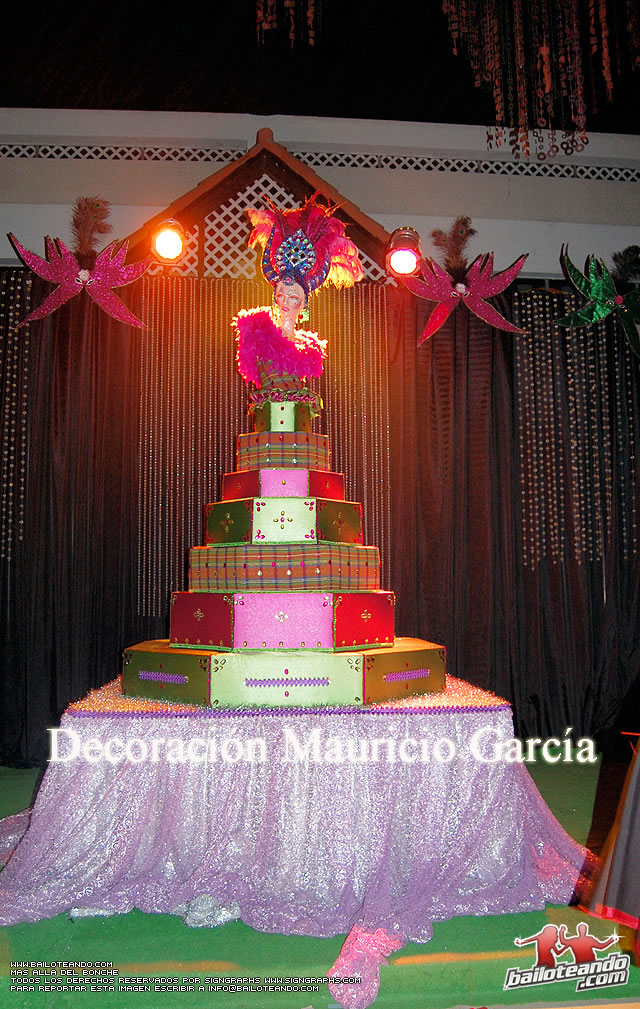Mauricio events decoraci n cumplea os estilo carnaval 15 for Decoracion para carnaval