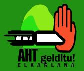 AHT gelditu!!