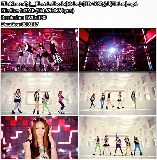 Download MV f(x) (에프엑스) - Electric Shock (Melon Full HD 1080p)