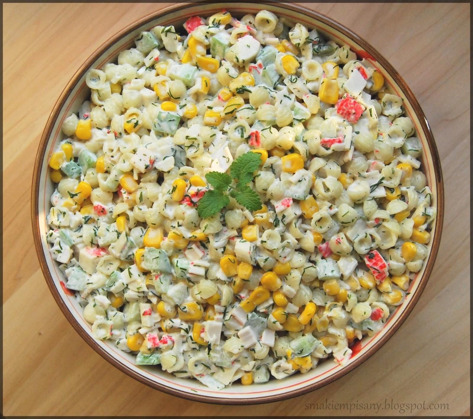 Smakiem Pisany Apetyczny Aromatyczny Kulinarny Blog Salatka Z