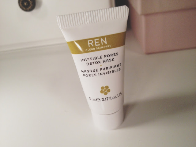 REN skincare, REN mask, REN Invisible Pores Detox Mask, skincare, beauty