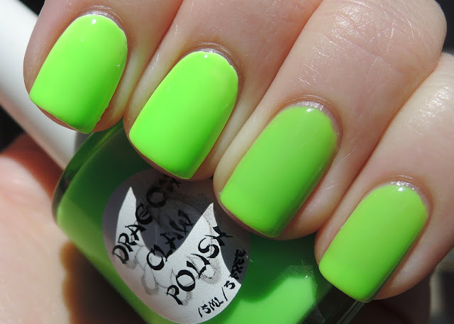 Dragon Claw Polish Luscious Lime