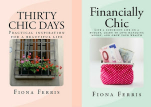 Subscribe to 'How to be Chic' and receive free excerpts of Thirty Chic Days and Financially Chic