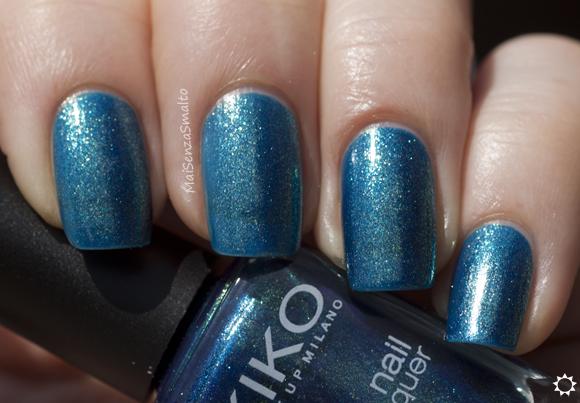 Kiko 530 Blu Pavone Perlato