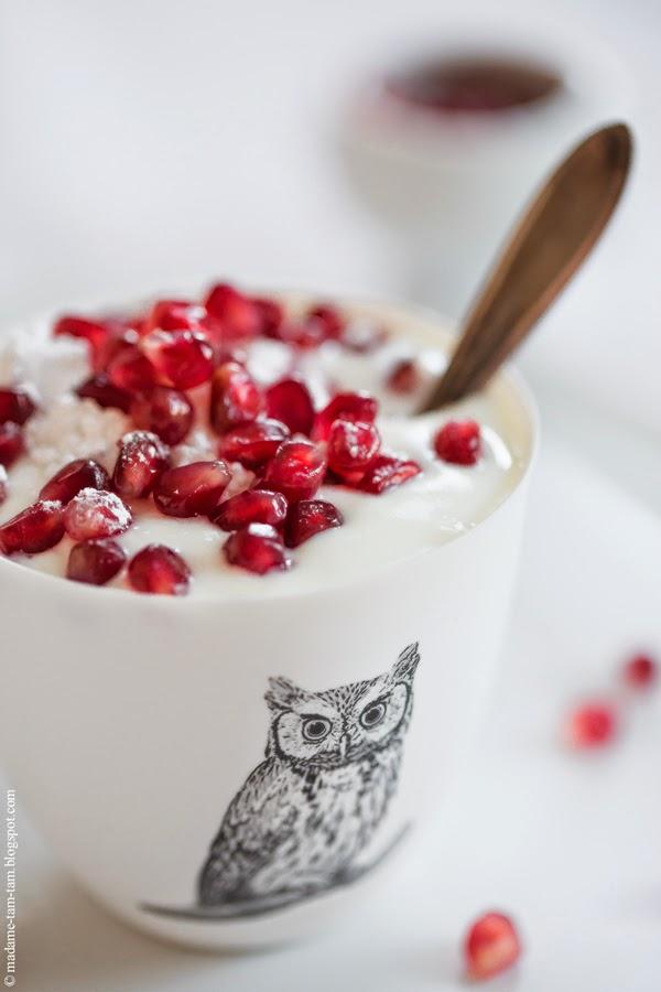 #granatapfel, #granatapfel-joghurt